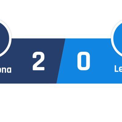 Barcelona - Leganés 2-0