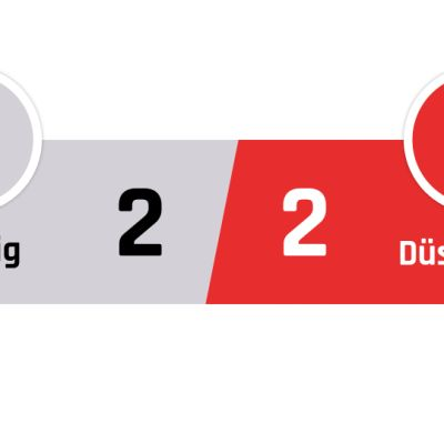 Leipzig - Fortuna Düsseldorf 2-2