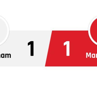 Tottenham - Manchester United 1-1