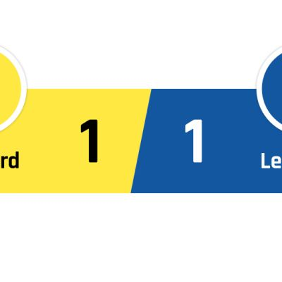 Watford - Leicester 1-1
