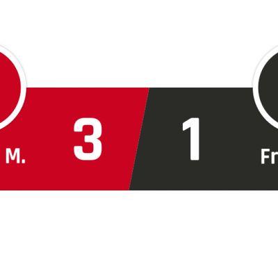 Bayern München - Freiburg 3-1