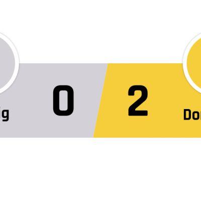Leipzig - Dortmund 0-2