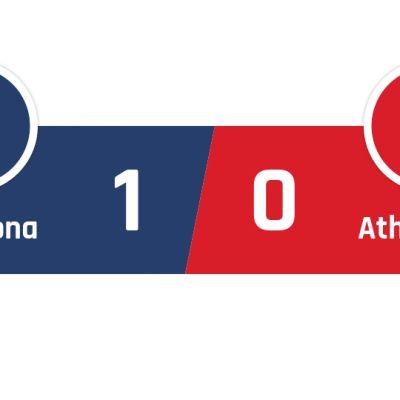 Barcelona - Athletic Bilbao 1-0
