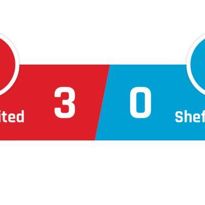 Manchester United - Sheffield United 3-0