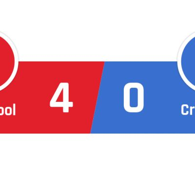 Liverpool - Crystal Palace 4-0