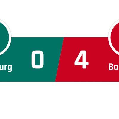 Wolfsburg - Bayern München 0-4