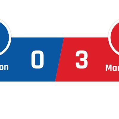 Brighton - Manchester United 0-3