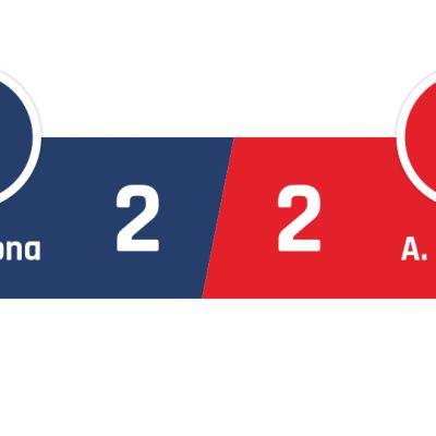 Barcelona - Atlético Madrid 2-2