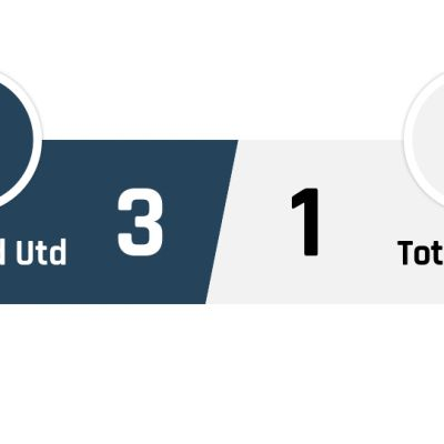 Sheffield United - Tottenham 3-1