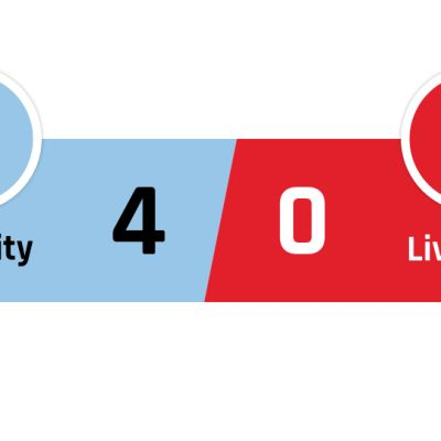 Manchester City - Liverpool 4-0