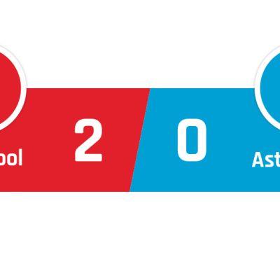 Liverpool - Aston Villa 2-0