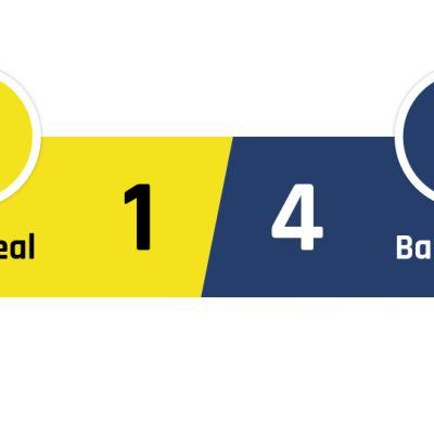Villareal - Barcelona 1-4