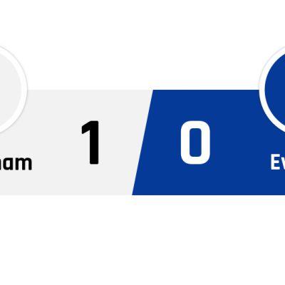 Tottenham - Everton 1-0