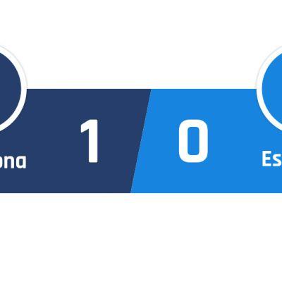 Barcelona - Espanyol 1-0