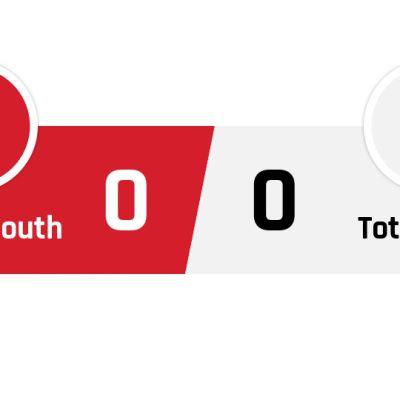 Bournemouth - Tottenham 0-0