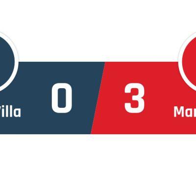 Aston Villa - Manchester United 0-3