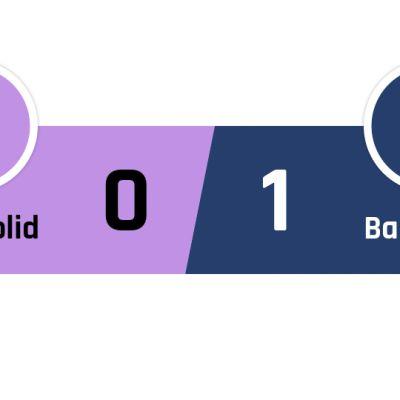 Valladolid - Barcelona 0-1