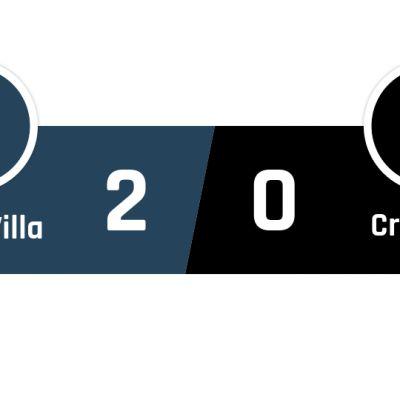 Aston Villa - Crystal Palace 2-0