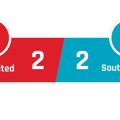 Manchester United - Southampton 2-2