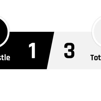 Newcastle - Tottenham 1-3
