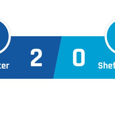 Leicester - Sheffield United 2-0