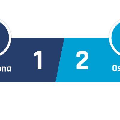 Barcelona - Osasuna 1-2