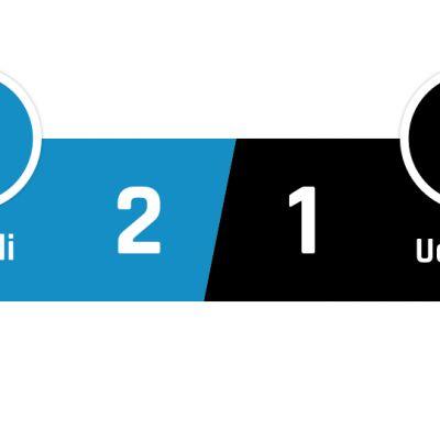 Napoli - Udinese 2-1