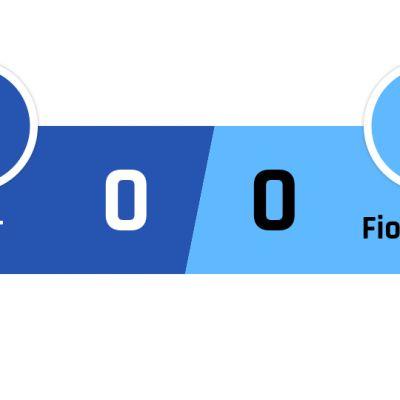 Inter - Fiorentina 0-0