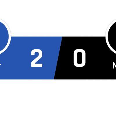 Inter - Napoli 2-0