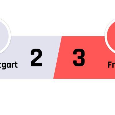 Stuttgart - Freiburg 2-3