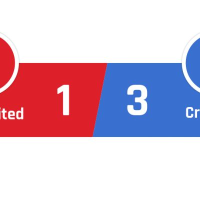 Manchester United - Crystal Palace 1-3