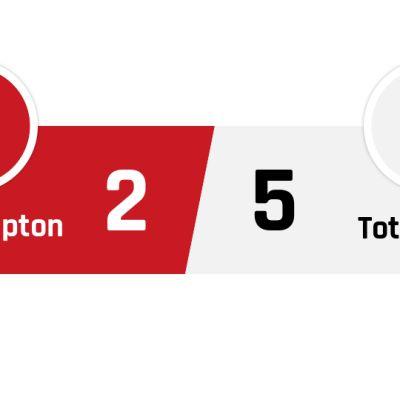 Southampton - Tottenham 2-5