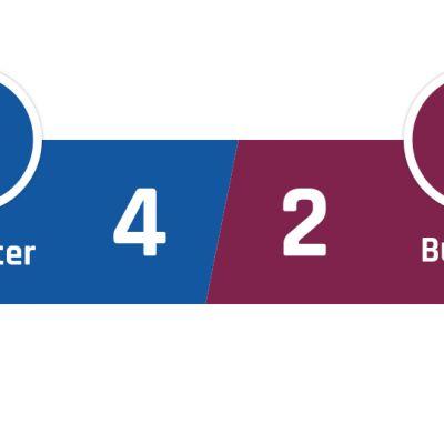Leicester - Burnley 4-2