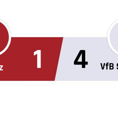Mainz - Stuttgart 1-4