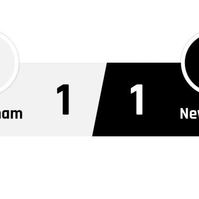 Tottenham - Newcastle 1-1