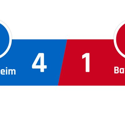 Hoffenheim - Bayern München 4-1