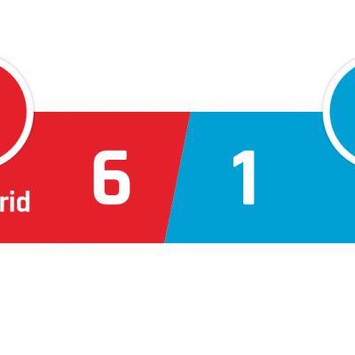 Atlético Madrid - Granada 6-1