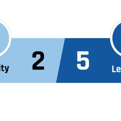 Manchester City - Leicester 2-5