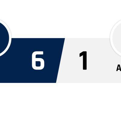 PSG - Angers 6-1