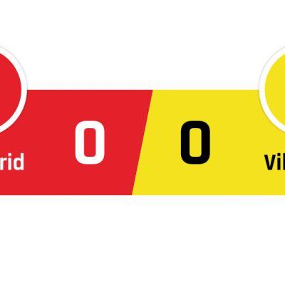 Atlético Madrid - Villareal 0-0