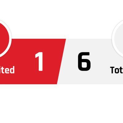 Manchester United - Tottenham 1-6
