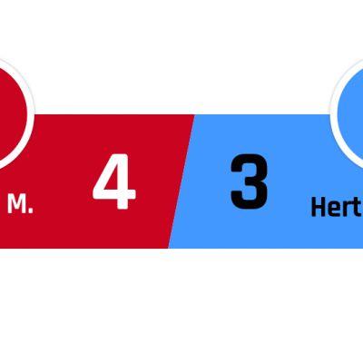 Bayern München - Hertha Berlin 4-3