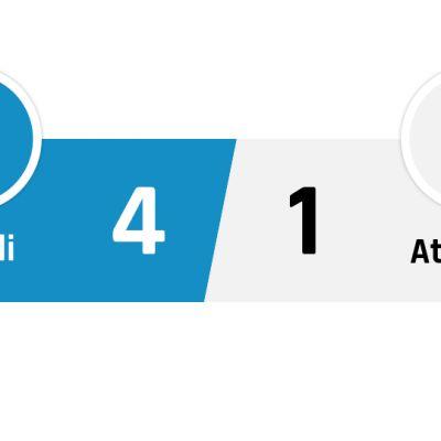 Napoli - Atalanta 4-1