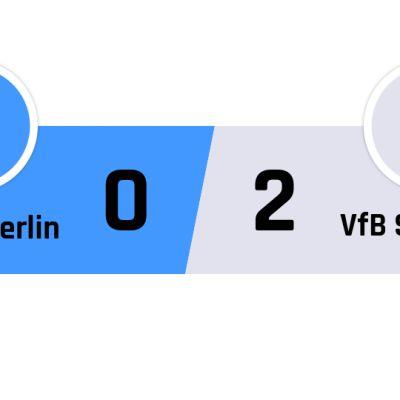 Hertha Berlin - Stuttgart 0-2