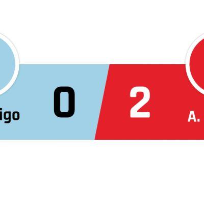 Celta Vigo - Atlético Madrid 0-2