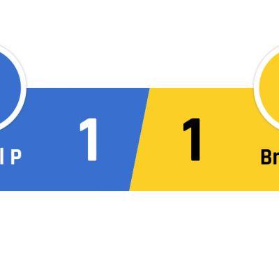 Crystal Palace - Brighton 1-1