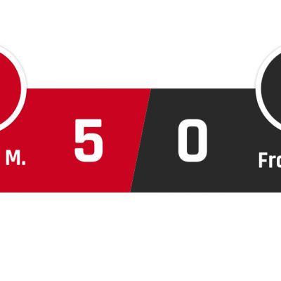 Bayern München - Frankfurt 5-0