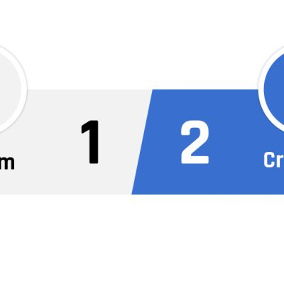 Fulham - Crystal Palace 1-2