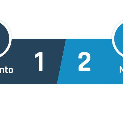 Benevento - Napoli 1-2