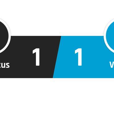 Juventus - Hellas Verona 1-1